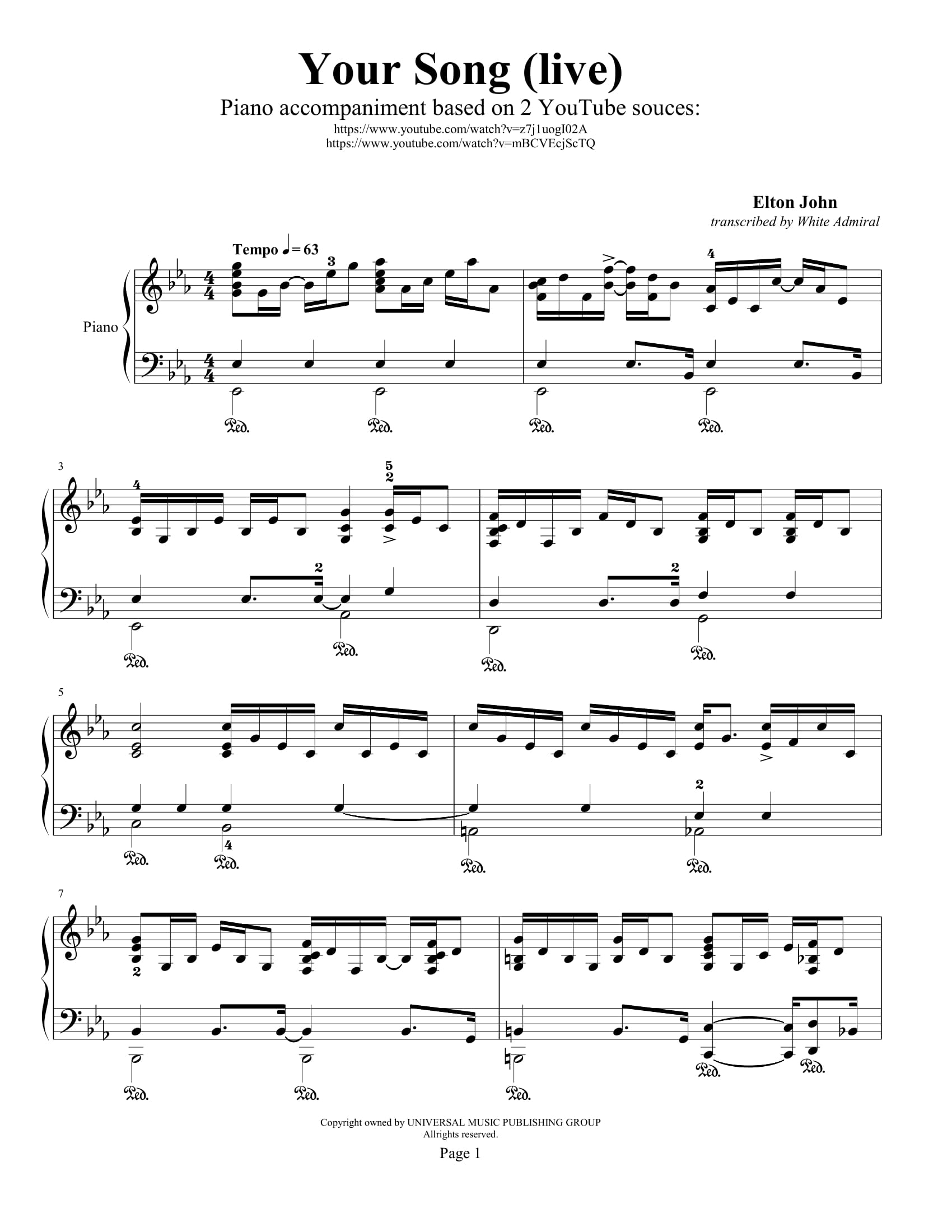 Piano Music Song Mp3